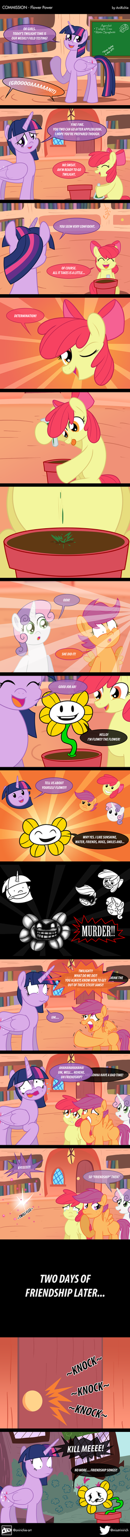 COM - Flower Power (COMIC) by AniRichie-Art