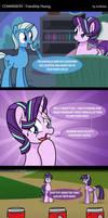 COM - Friendship Hazing (COMIC) by LadyAniDraws
