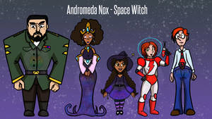 Andromeda Nox - (Cartoon Modern Pitch)
