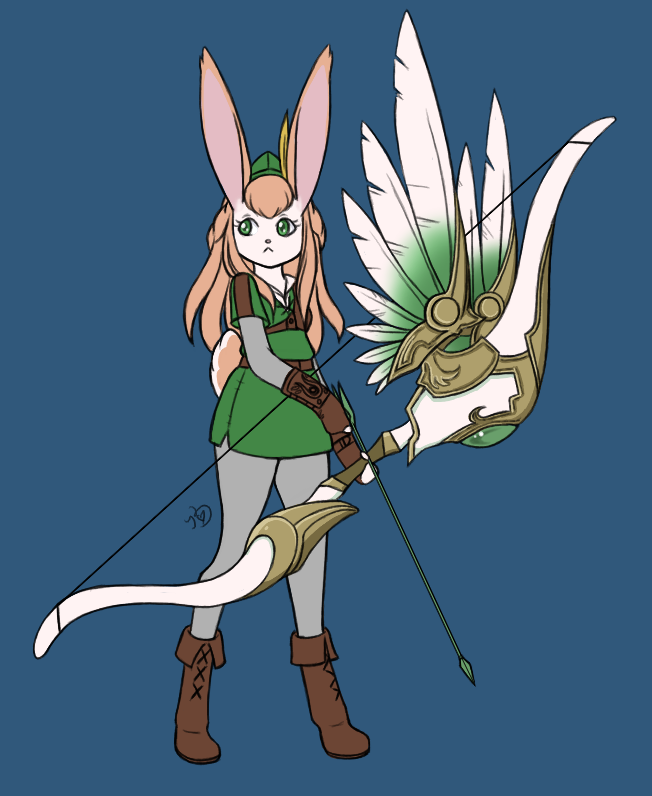 Bunny Ambie by mooncats5