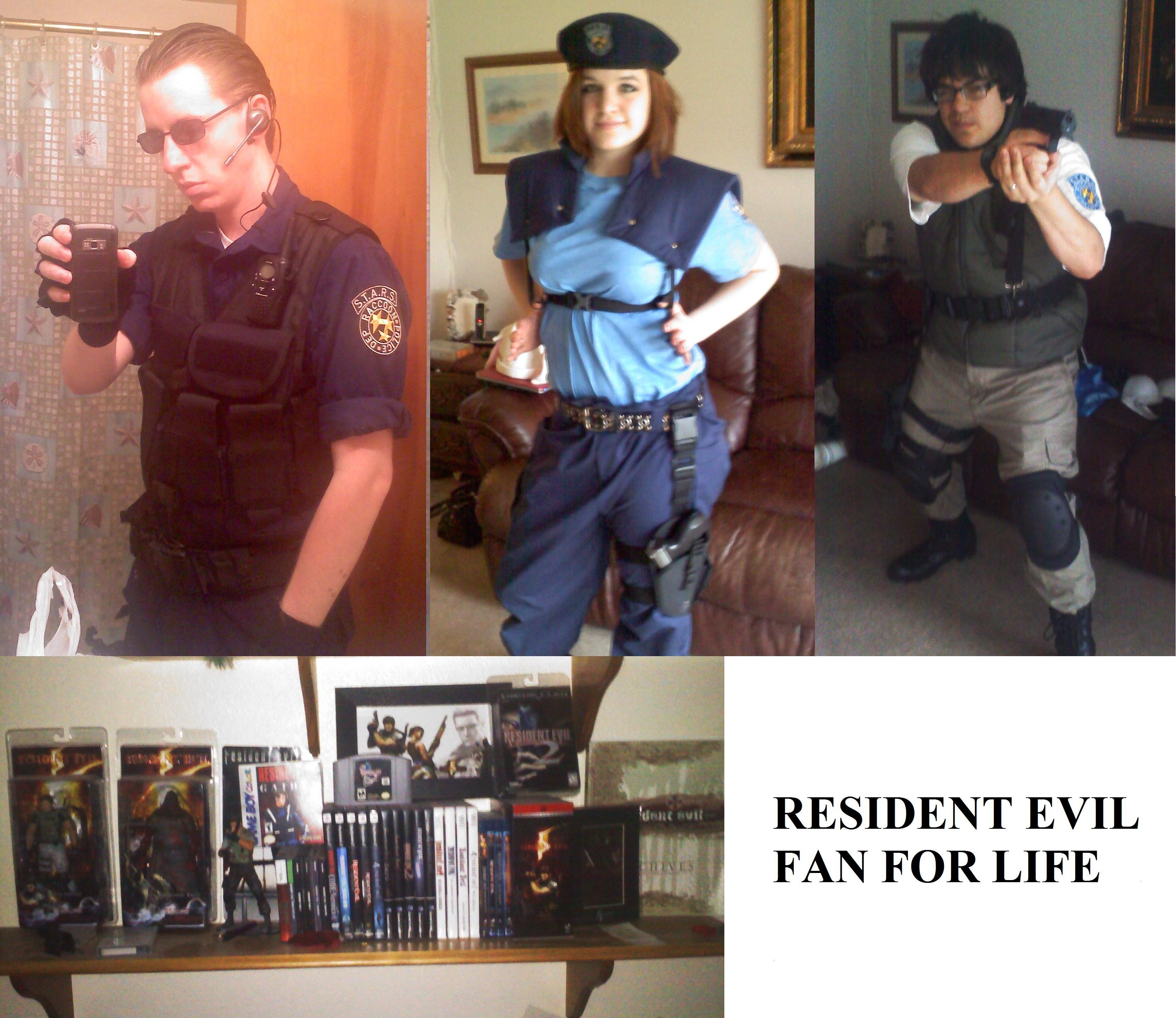 Resident Evil 1 Cast Cosplay by TomatoMan7