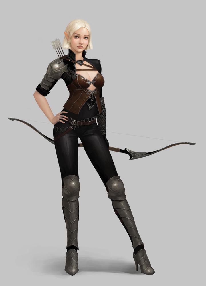 Archeress by moogyu
