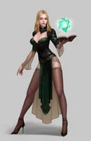 sorcerer by moogyu