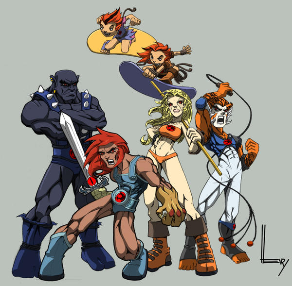 Colours: ThunderCats by wrightauk