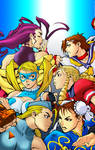 Colours: Street Fighter Babes