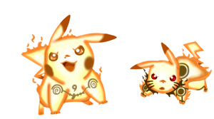 Pikachu rikudou sennin mode by Xandreita93X