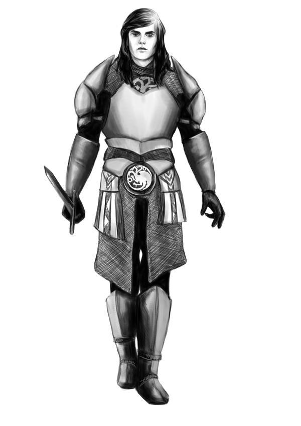 Aegon VI (Young Griff) Targaryen by denkata5698