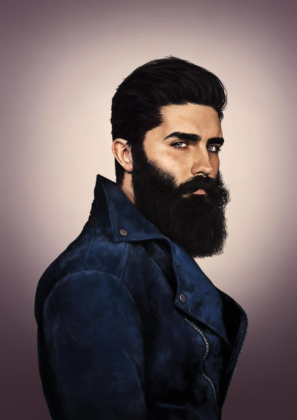 Chris John Millington aka Beard Goals by denkata5698