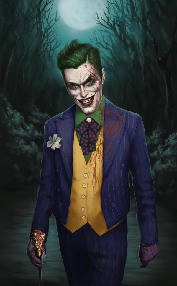 Jared Leto's Joker Concept by denkata5698