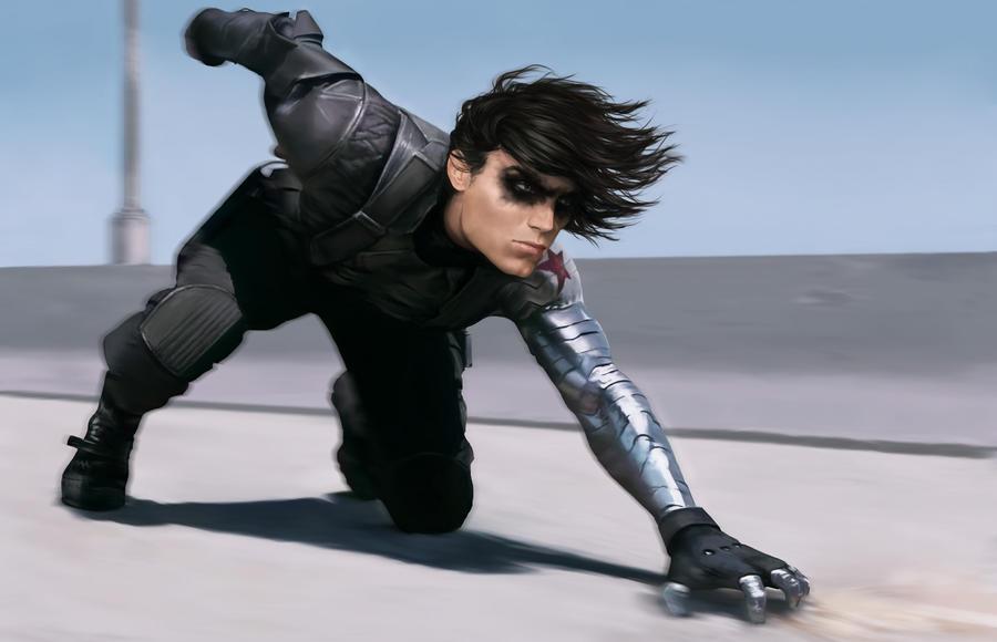 Winter Soldier slidin' by denkata5698