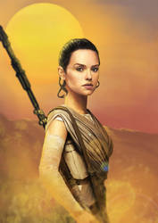 Rey / The Force Awakens