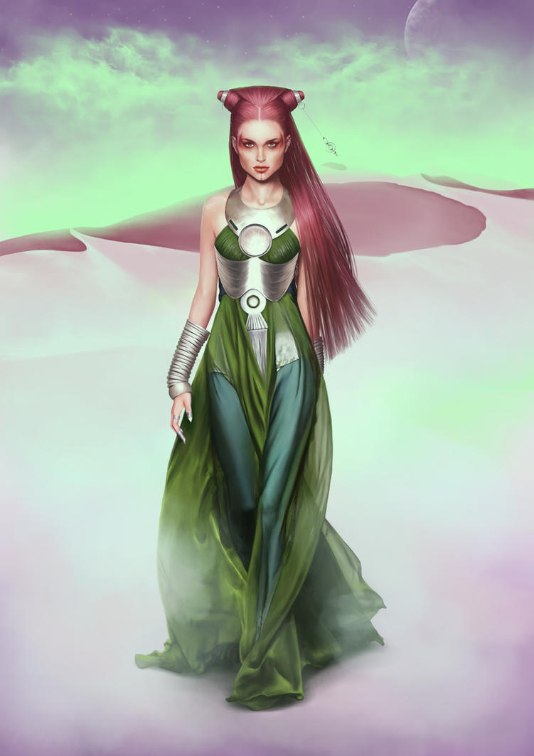Lady Jessica of House Atreides by denkata5698