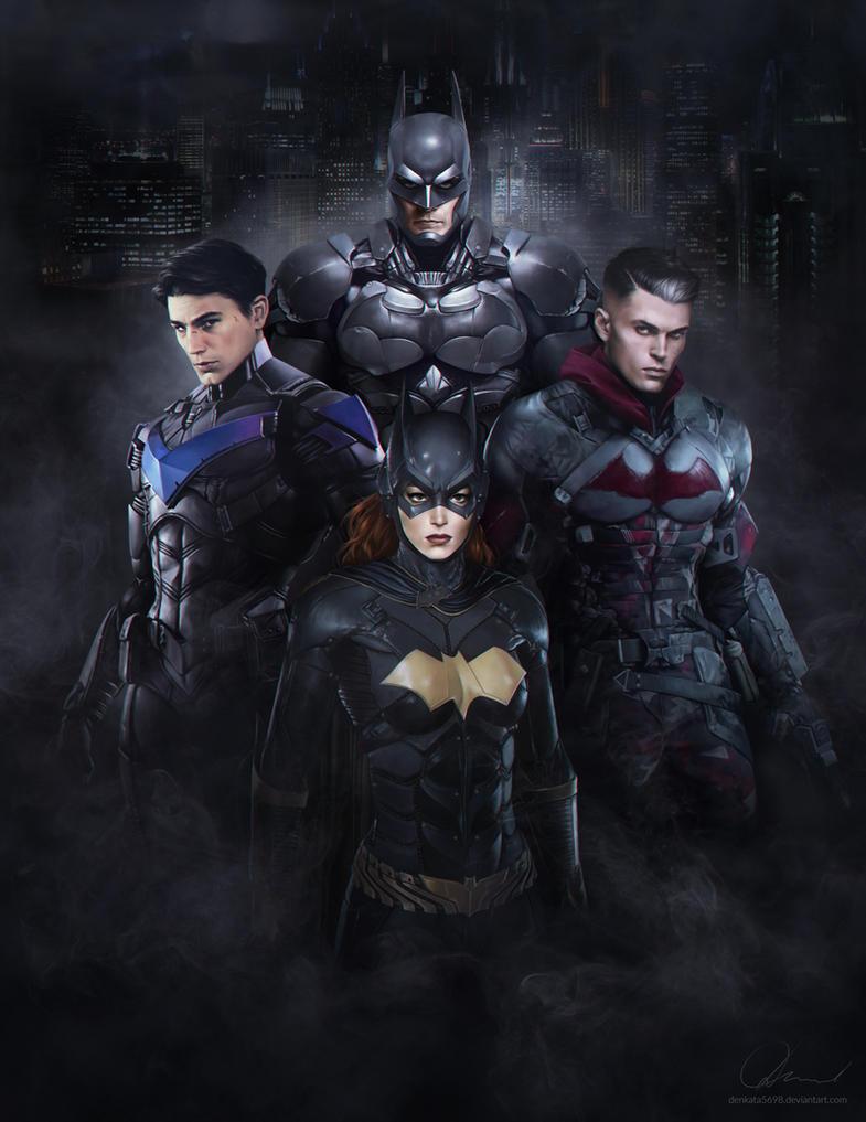 Gotham's Bat Family by denkata5698
