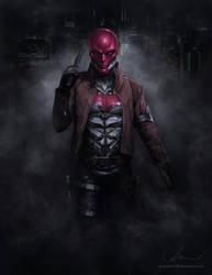 Arkham's Red Hood by denkata5698
