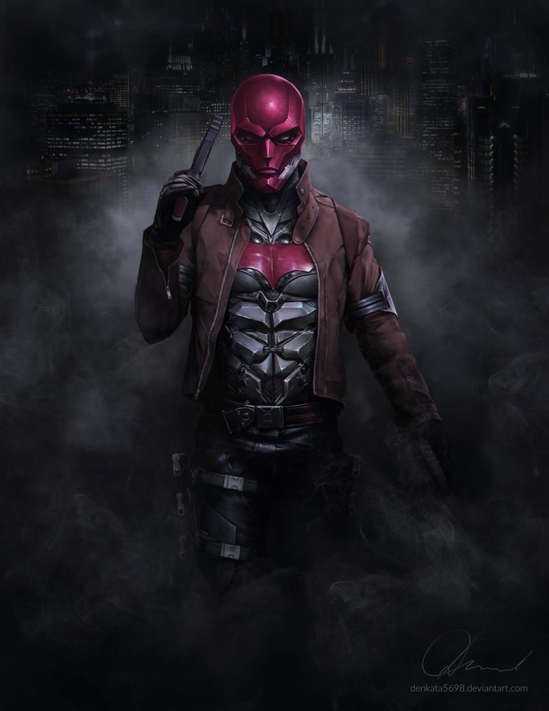 Arkham's Red Hood by denkata5698 on DeviantArt