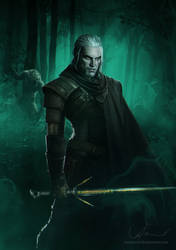 Geralt of Rivia by denkata5698