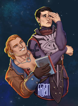 Varric and Cassandra DAI