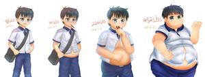Boy Kai WG sequence part 1~4 by Takaha-aki