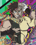 Joseph Joestar young vs old