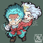 Deku ONE FOR ALL 100% ft. Eri-chan (CHIBI VERSION)