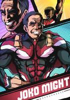JOKO MIGHT !! by zerucheese