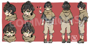 Character Sheet Commision   Kerry
