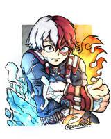 Todoroki Shoto | Boku No Hero Academia by zerucheese
