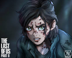 Ellie The Last of Us 2 by zerucheese