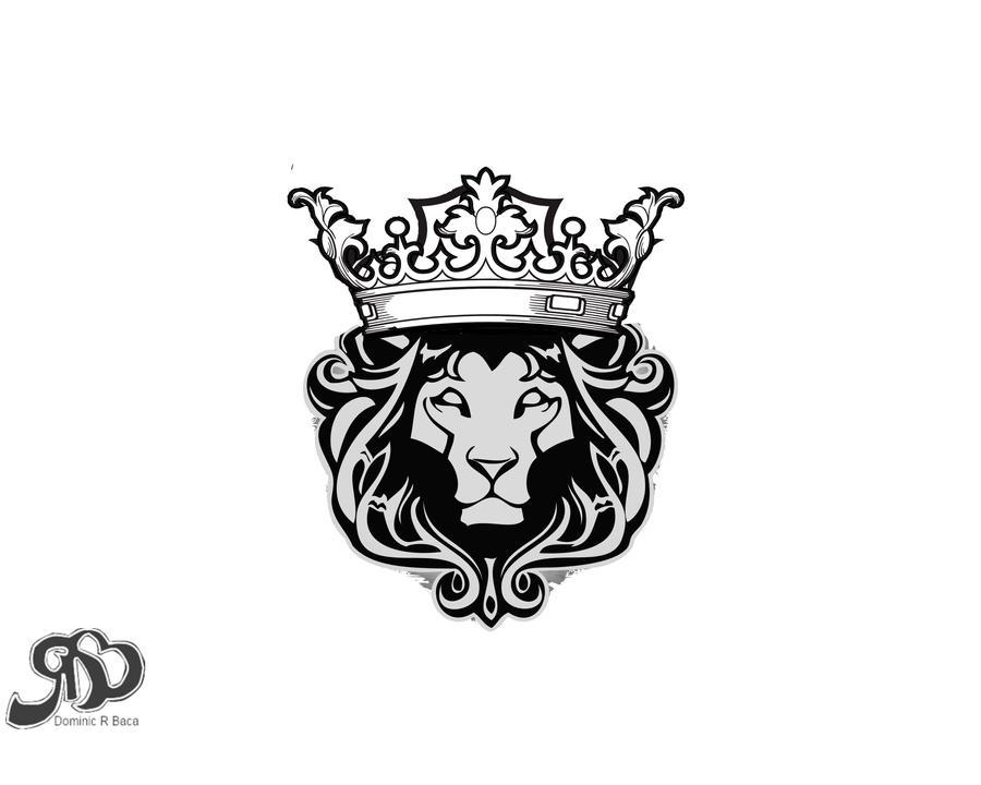 Lion Crown Logo Lion crown by drbaca420Lion With Crown Car Logo