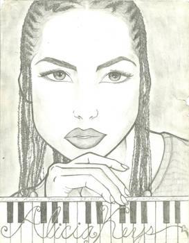 PhatLipp - Alicia Keys [FanArt]