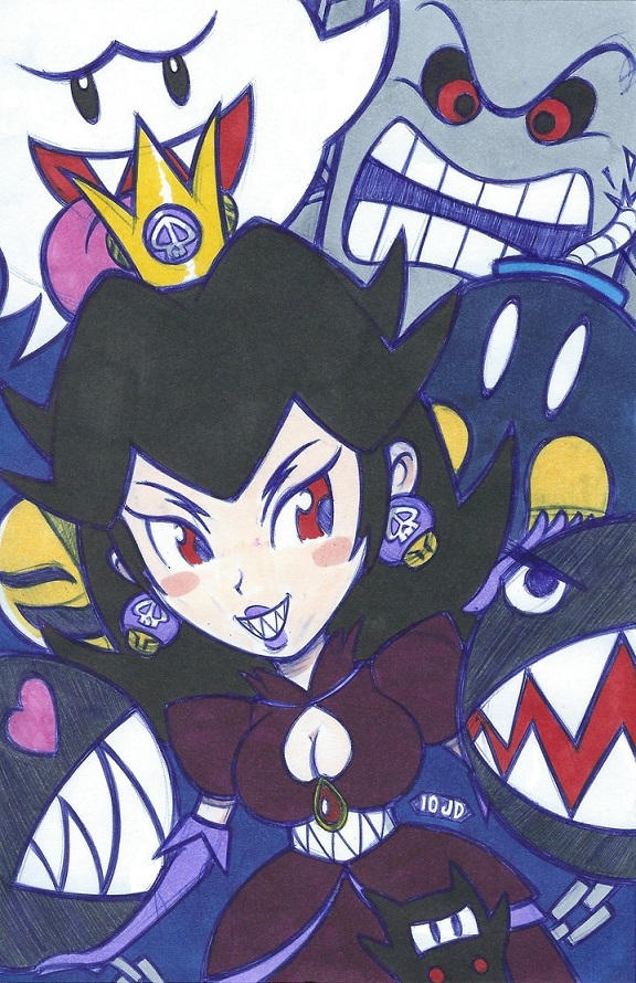 Evil Princess Peach - justDEF [FanArt]