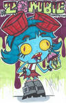 Frida Suarez Zombie Frap - justDEF [FanArt]