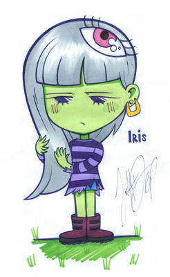 Iris - justDEF [OCs]