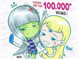 100,000 Views - justDEF [OCs]