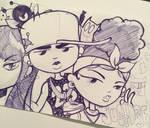 Returning soon doodle - justDEF [OCs]