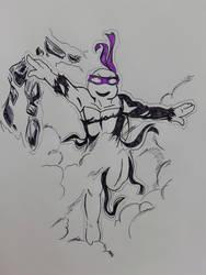 Tatsumaki-Donnie sketch