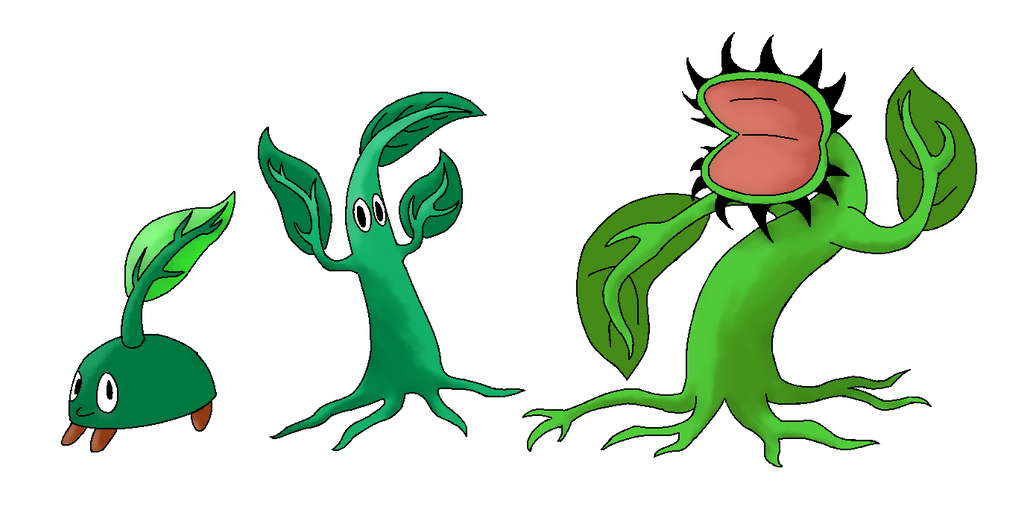 Pokemon Topaz - The Grass Starter by Aurora-Xatu