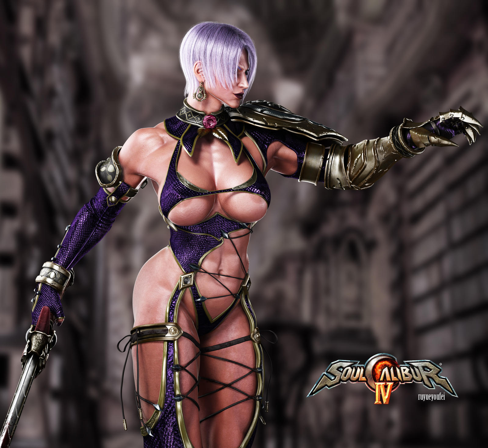 Soulcalibur naked pictures sex clip