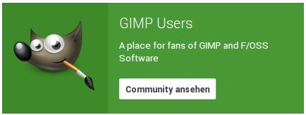Gimp Users on G+