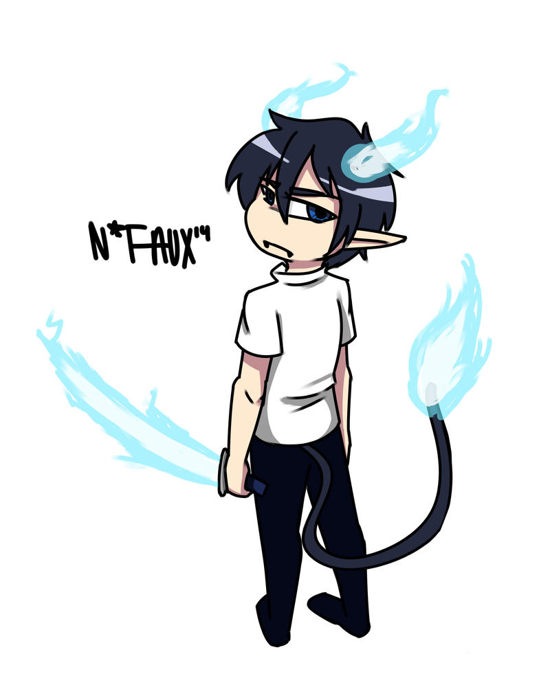 Blue Exorcist Request by NiFaux