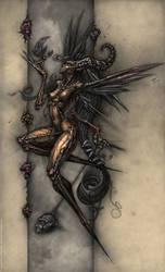 The Necroptic Faerie by DavidBollt
