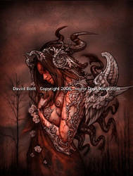 Cthulhu Princess by DavidBollt