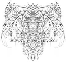 Heart of the Dragon Queen 1 by DavidBollt
