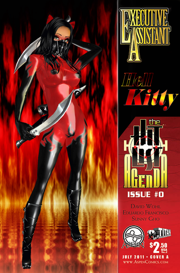 Comix Coverz: Hell Kitty intro by Krypto4CatSuits