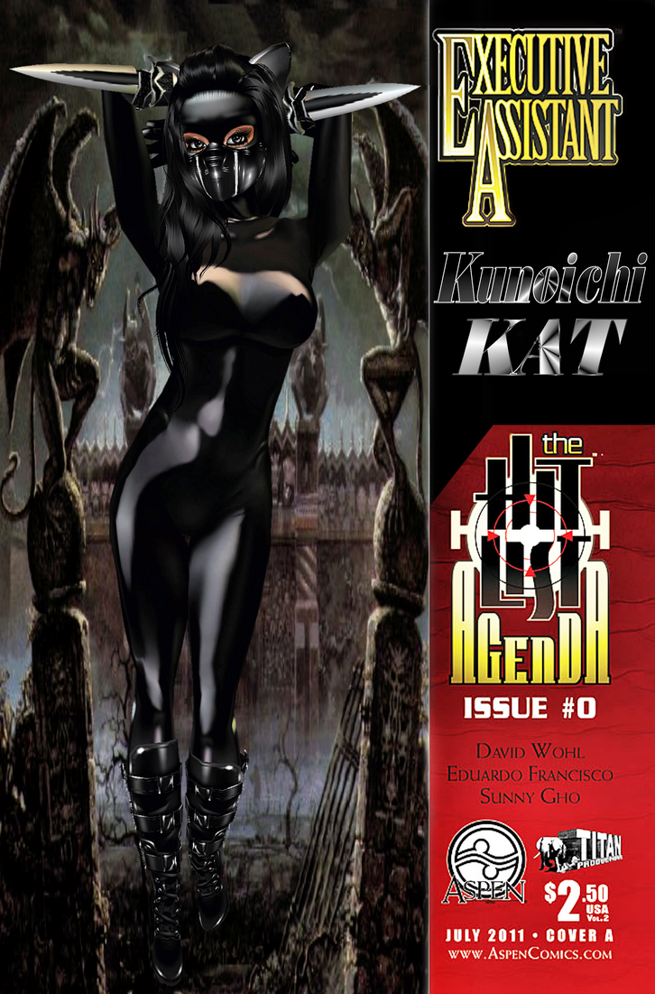 Comix Coverz: Kunoichi Kat Origins by Krypto4CatSuits