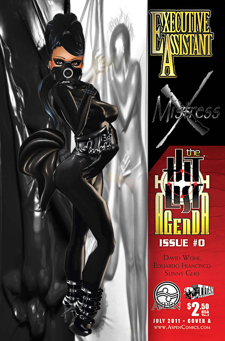 Comix Coverz: Mistress-X V1 by Krypto4CatSuits
