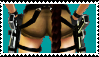 Lara's short shorts stamp XD by LaraLuvsMe