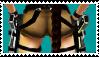 Lara's short shorts stamp XD by Darc4ssass1nCMD