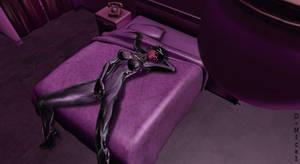 Batgrrl Lara: Suductive Intruder in my Bed by LaraFantic96