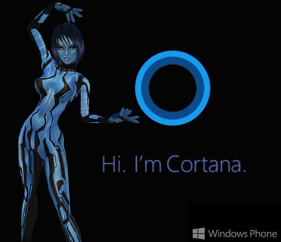Halo: Cortana-Window Phone's A.I. by LaraLuvsMe